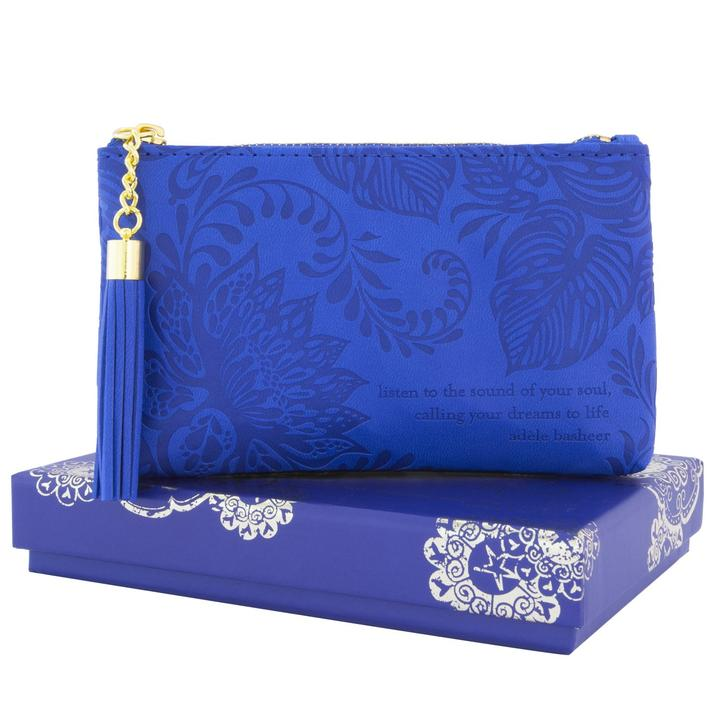 Lapis Blue Coin Purse