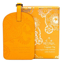 Load image into Gallery viewer, Marigold Yellow Luggage Tag