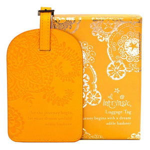 Marigold Yellow Luggage Tag