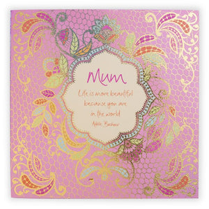 Mum Family Quote Book