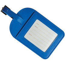 Load image into Gallery viewer, Santorini Blue Luggage Tag