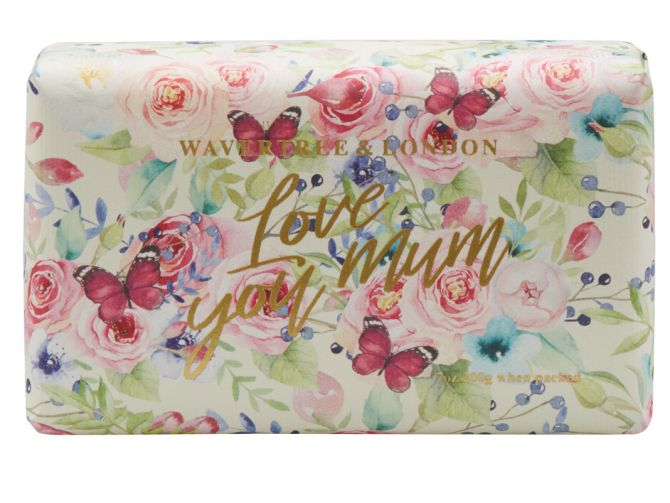 Love You Mum Soap Bar 200g