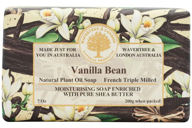 Vanilla Bean Soap Bar 200g
