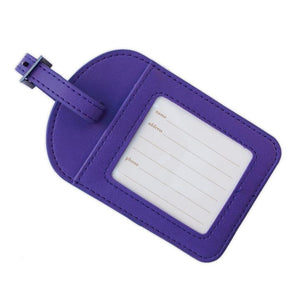 Violet Luggage Tag