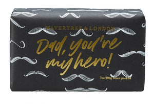 Dad You're my Hero Soap Bar - Beach Fragrance 200g