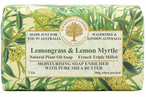 Lemongrass & Lemon Myrtle Soap Bar 200g