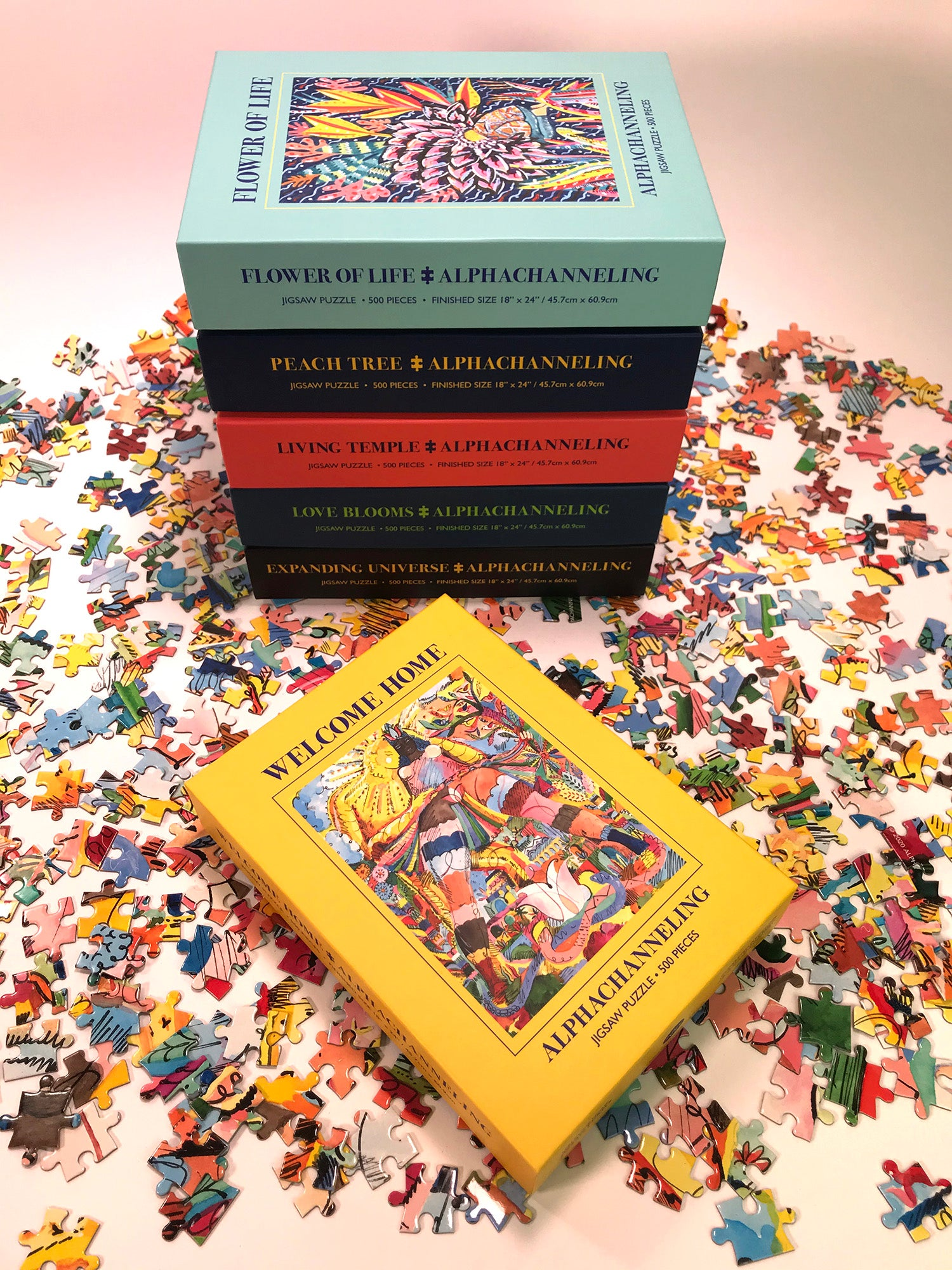 500 PC Jigsaw Puzzle