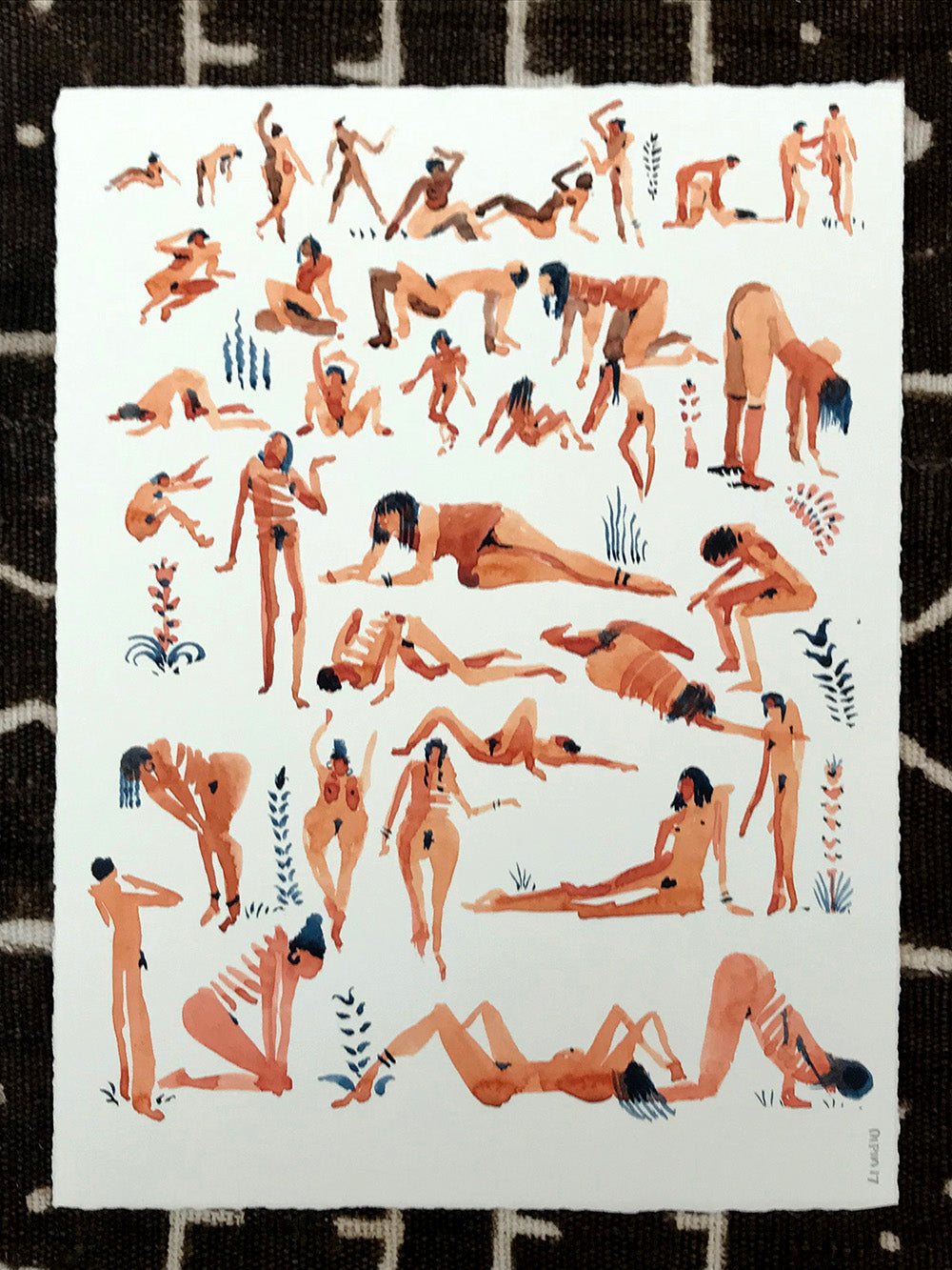 Original Art- Naked Situations