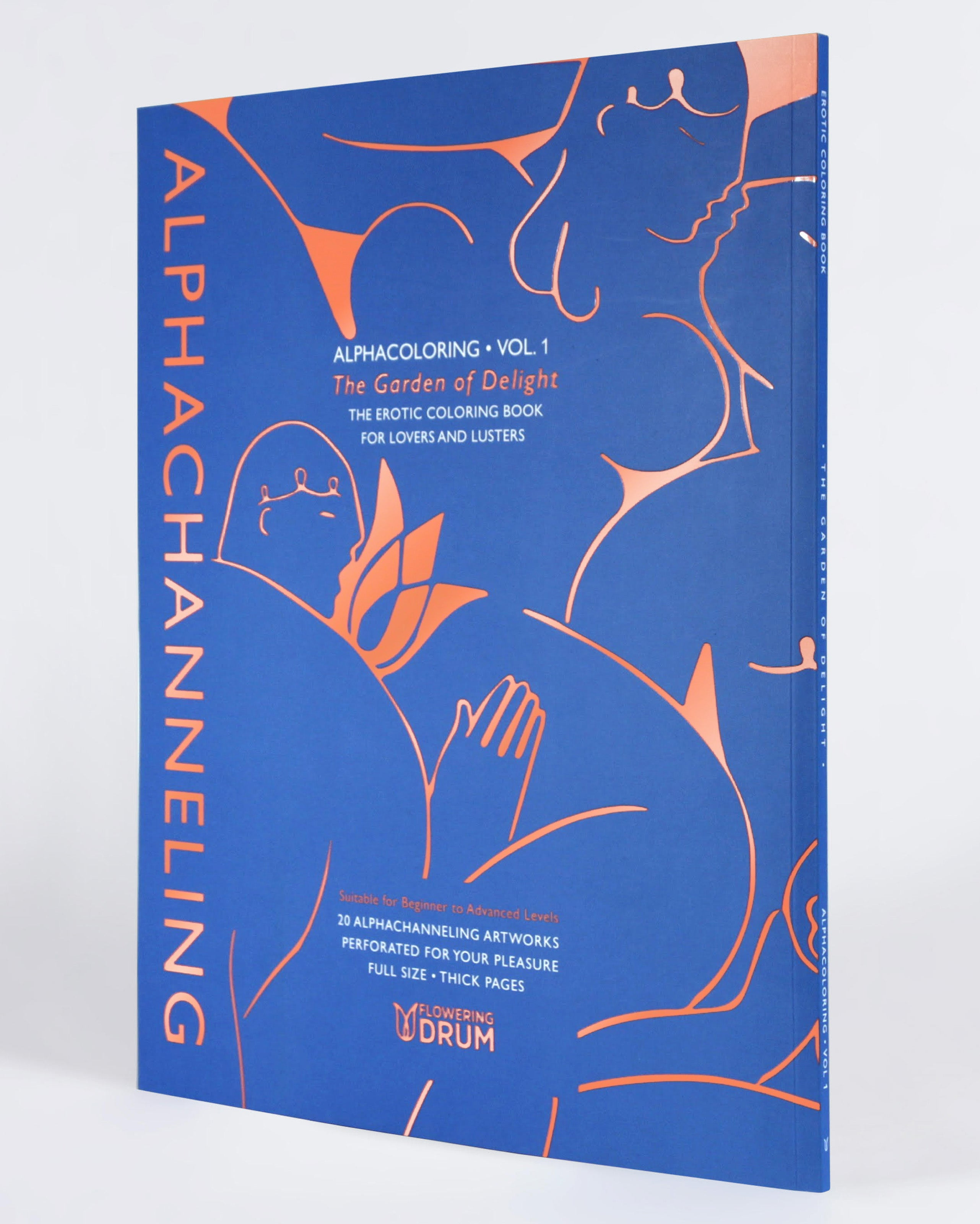 Erotic Coloring Book: Alphacoloring Vol. 1 – ALPHACHANNELING