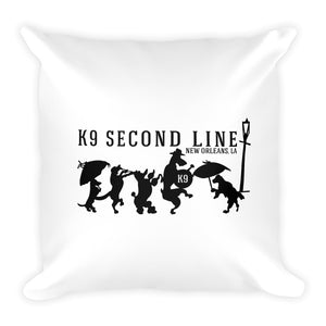 K9 Logo Square Pillow