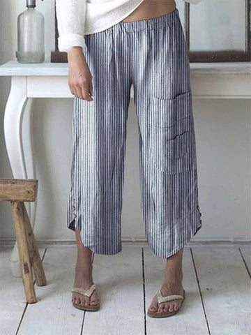 Bohemian Striped Pants
