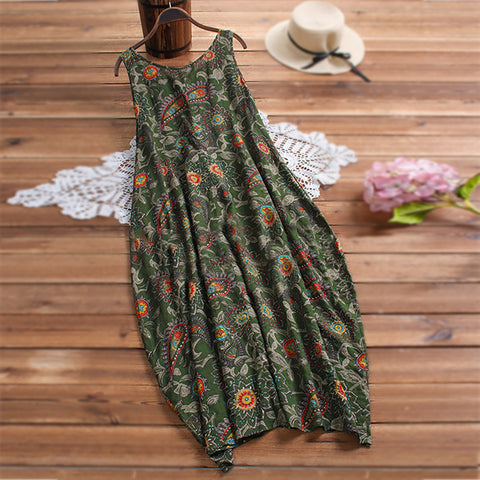 Ladies sling floral skirt