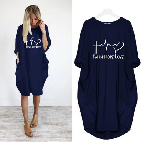 """FAITH·HOPE·LOVE"" Dress"