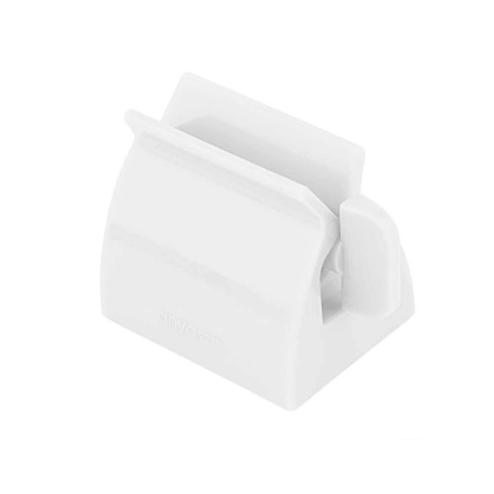 KaLaiXing brand Rolling Toothpaste Tube Squeezer Easy Squeeze Dispenser Bathroom Accessory-white