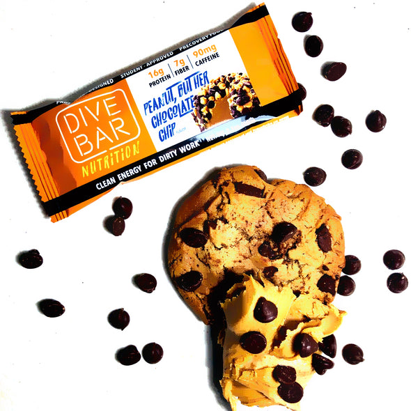 PB Chocolate Chip - 6 Bars