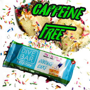 CAFFEINE FREE Divorce Cake 12 Bars