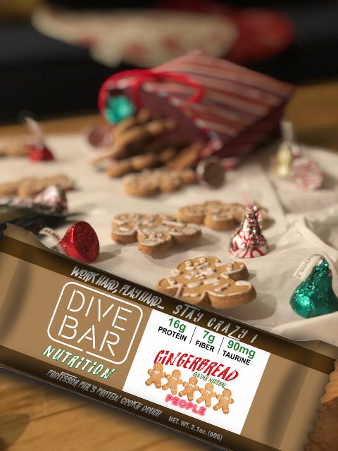 GINGERBREAD COOKIE flavor - 6 bars