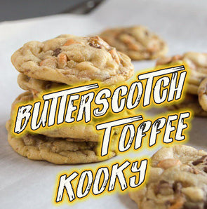 TOFFEE BUTTERSCOTCH KOOKY 6 Bars