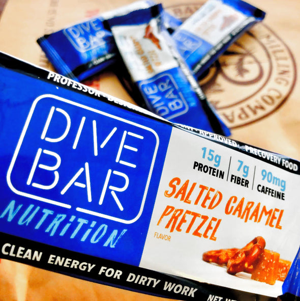 SEA SALTED CARAMEL PRETZEL - 12 Bars