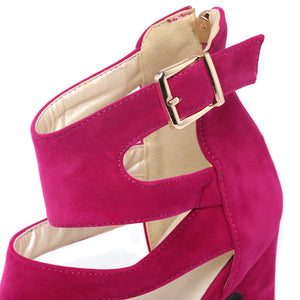 Divine Woman Peep Toes with High Quality! - 3 to 12 Sizes & 3 Girly Colors