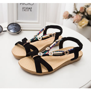 2018 Summer New Roman & Bohoemia Sandals Style In 3 Luscious Perfect Colors