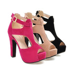 2018 New Romantic Peep Toes with Hyper Quality! - 4 to 10 Sizes & 3 Girly Colors