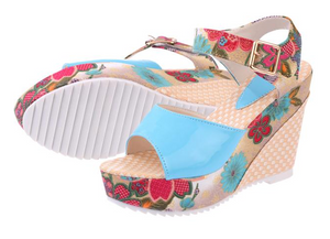 ¡New Sandals Floral's Coquette! - Very Girly And Fashion in 3 Perfect Colors
