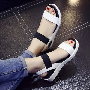 Summer Sandals Peep-Toe