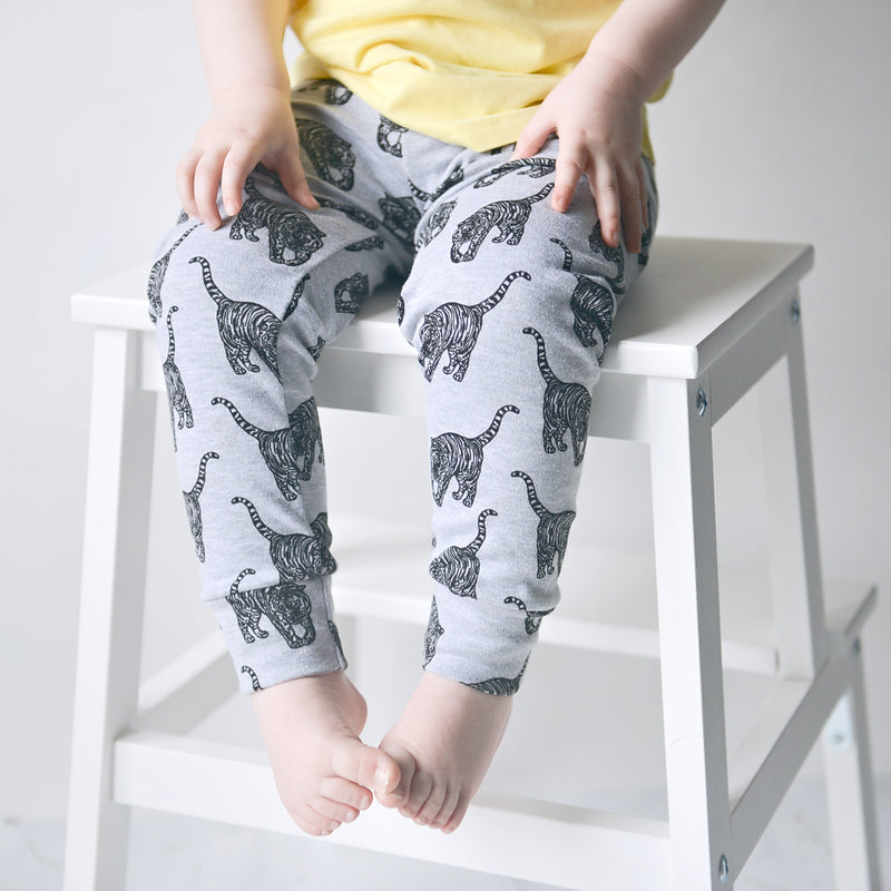 *LIMITED EDITION* Prowling Tiger 100% Cotton Leggings (0-5 years)
