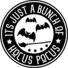 'It's Just a Bunch of Hocus Pocus' Cosmic Blend Unisex T-Shirt