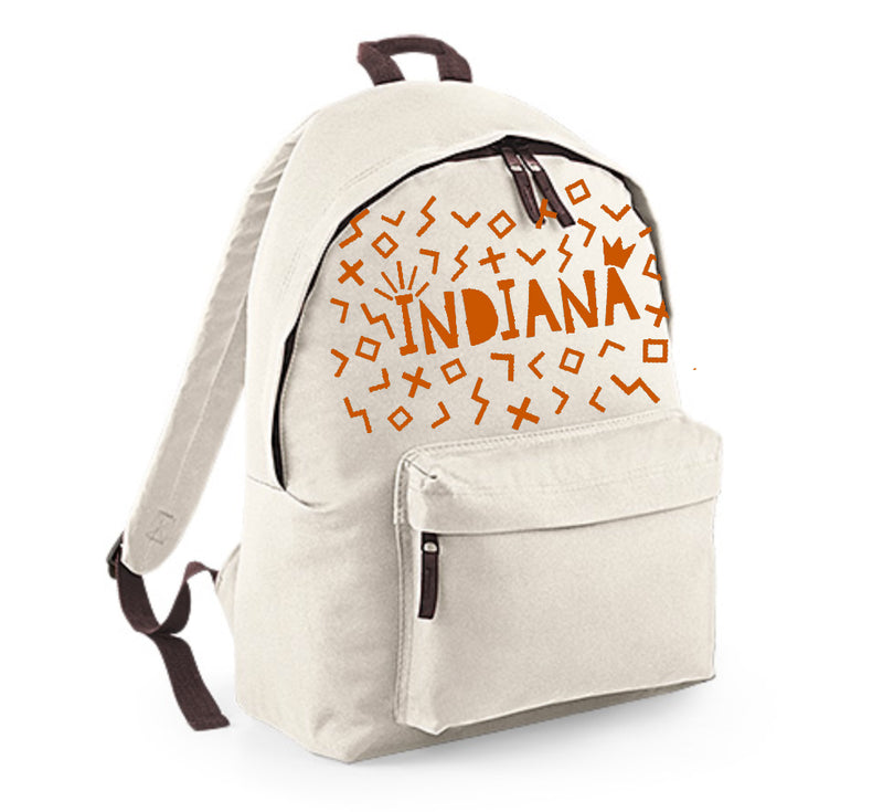 Personalised Backpack - Scattered Shapes