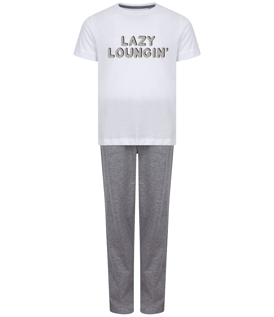 'Lazy Loungin' Older Kids Pyjamas