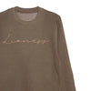 'Lioness' Unisex Fit Sweatshirt - Olive/Copper