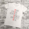 'Rocking the Mama Life' Slogan T-Shirt
