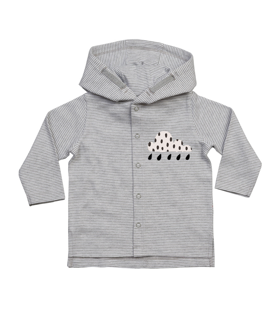 Cloud/Umbrella Baby Hooded Loungewear Set