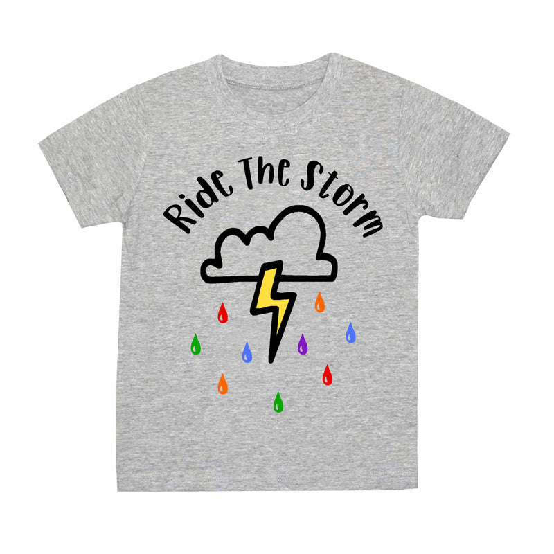 'Ride The Storm' Kids T-Shirt