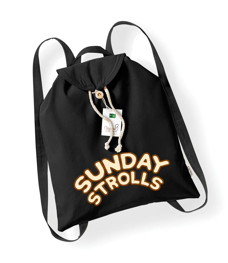 SUNDAY STROLLS - Organic Festival Backpack