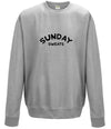 Mens 'SUNDAY' Casual T-shirt - Dusty Blue