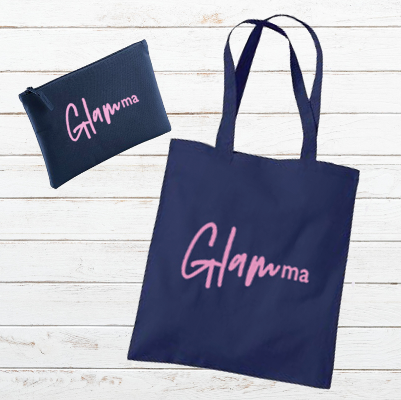 'GlamMa' Gift Set - Tote Bag & Pouch