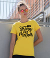 'Strong As A Mother' Ladies T-Shirt