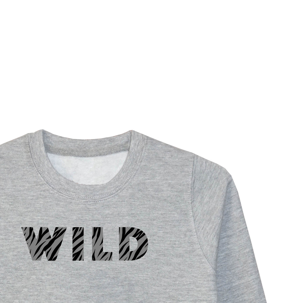 'WILD' Older Kids Sweatshirt (3-13 years)*