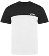 'WKND' Mens Colour Block T-Shirt
