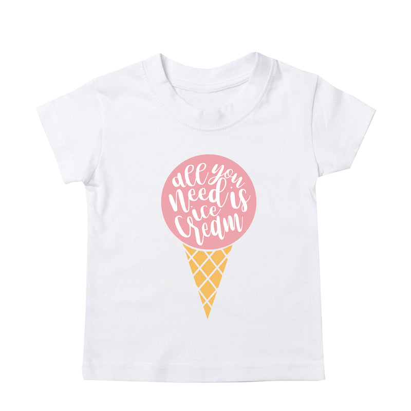 'all you need is ice cream' Baby/Kids T-Shirt