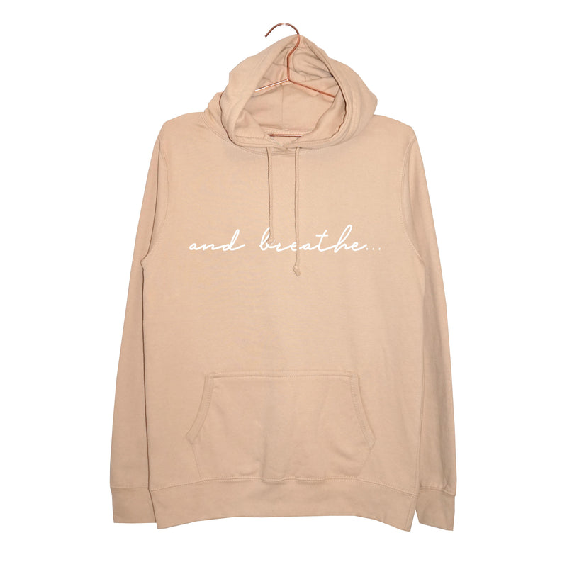 'and breathe...' Women's Hoodie