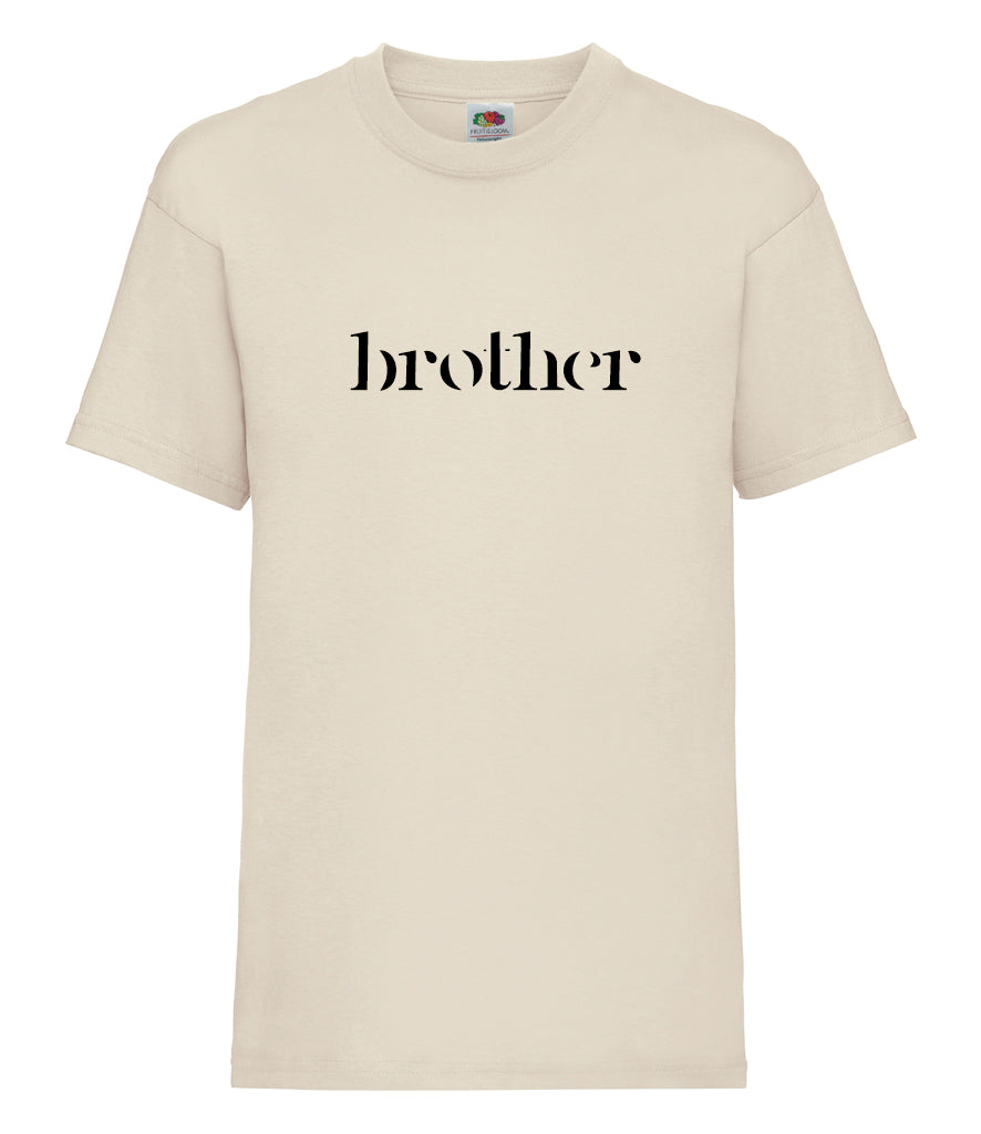 Simple Sibling/Mini T-Shirt - Older Kids