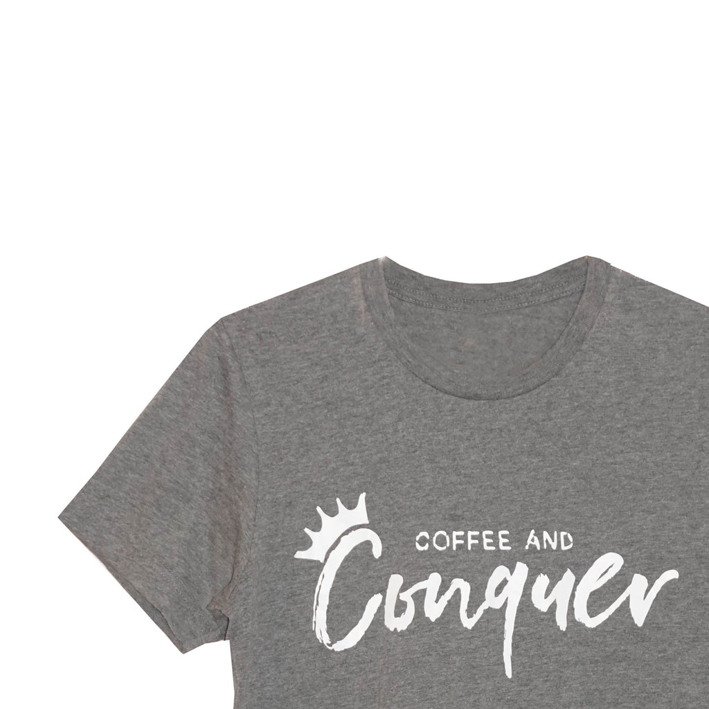 Coffee and Conquer Women's T-Shirt*