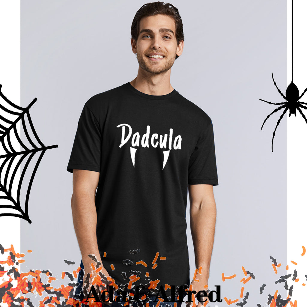 'Dadcula' Mens Halloween T-Shirt