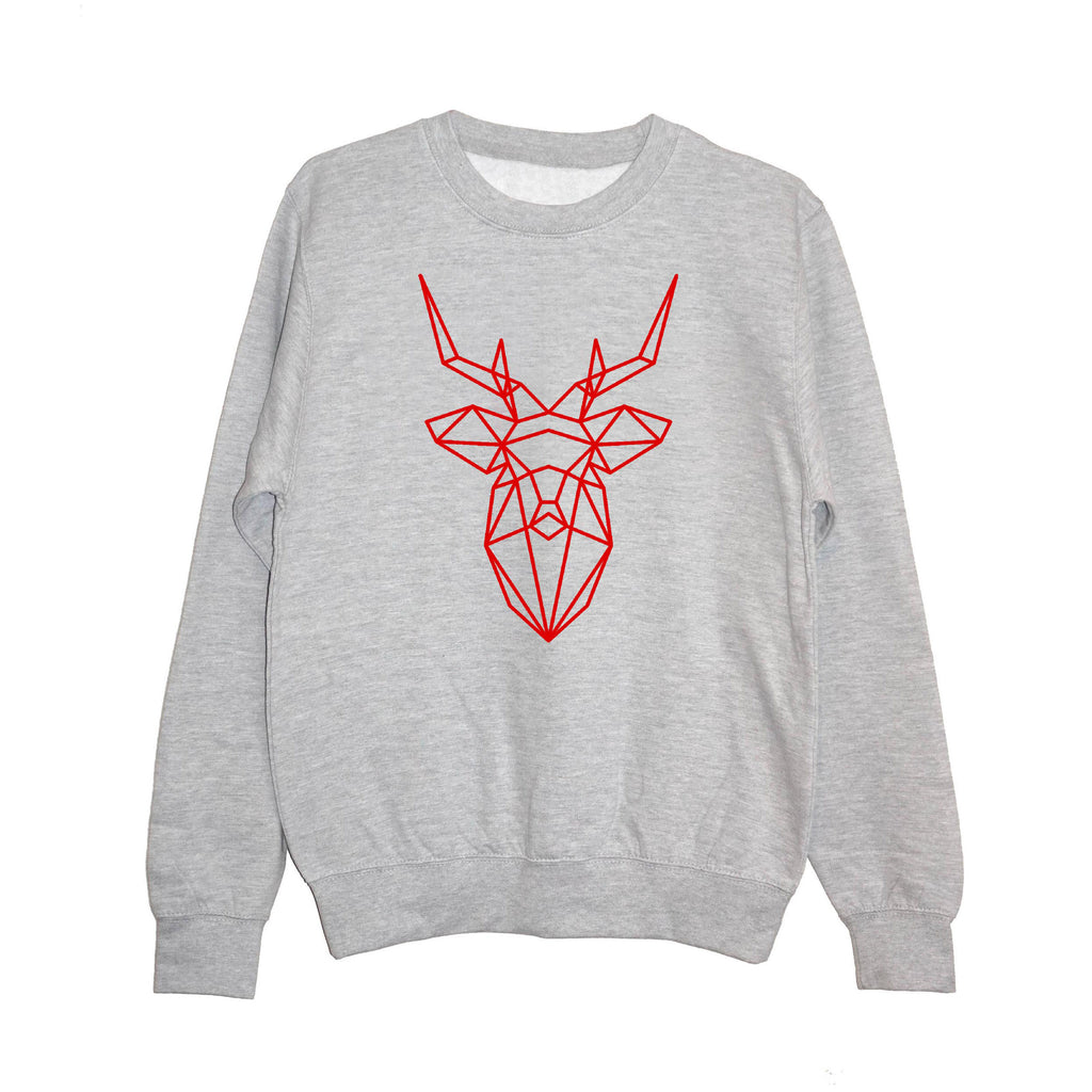 Reindeer Christmas Sweatshirt - Unisex Fit