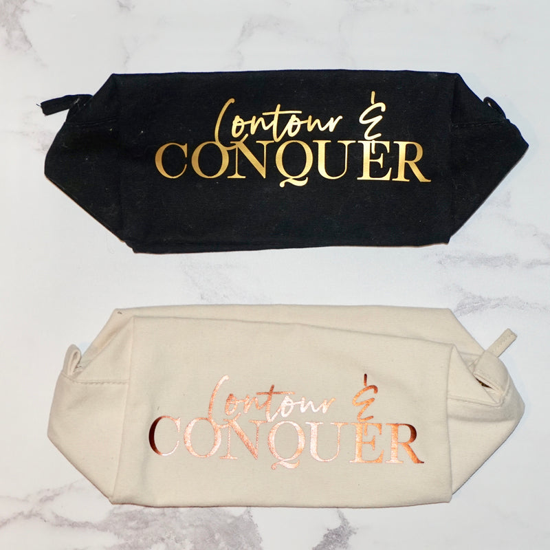 'Contour & Conquer' Make Up Bag