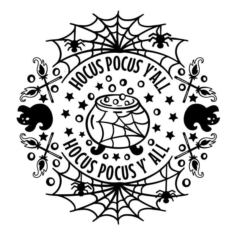 'Hocus Pocus Y'all' Unisex Fit T-Shirt